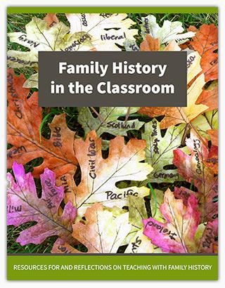 Family History in the Classroom