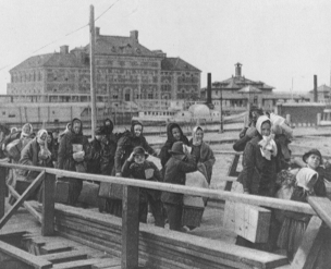 Immigration: Landing at Ellis Island