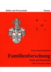 Buchdecke für Familienforschung