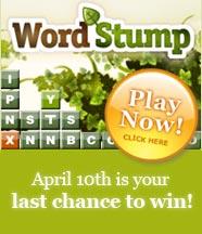 Wordstump game