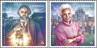 Canada Post Stamps Commemorating Black History Month: Abraham Doras Shadd & Rosemary Brown