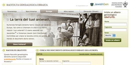 Raccolta Genealogia Ebraica