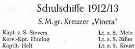 Chroniken der deutschen Marinebesatzung, 1891-1918