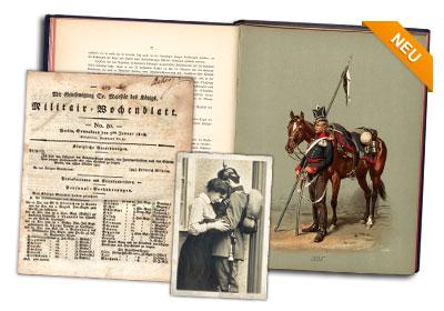 Militärische Wochen- und Verordnungsblätter, 1816-1942