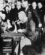 Alexander Graham Bell, inventeur du téléphone