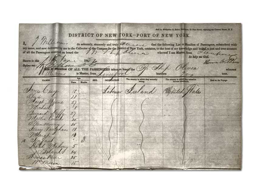 Immigration & Emigration Records