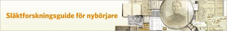 Komma igång – Släktforskning för nybörjare – användarguide
