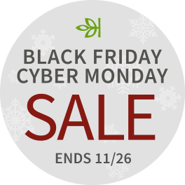Black Friday - Cyber Monday Sale - Ends November 26th
