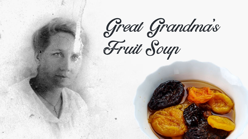 Great Grandma's Fruit Soup