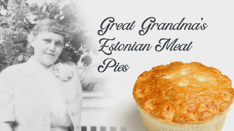 Great Grandma's Estonian Meat Pie