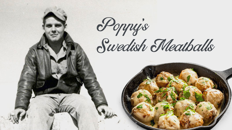 Poppy's Swedish Meatballs