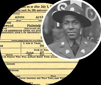 New World War II Draft records