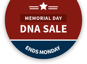 Memorial day DNA sale, ends monday