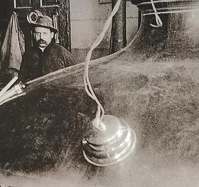 Brewmaster William Haas
