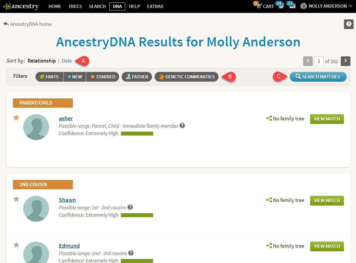 Dating website matches you based on your DNA