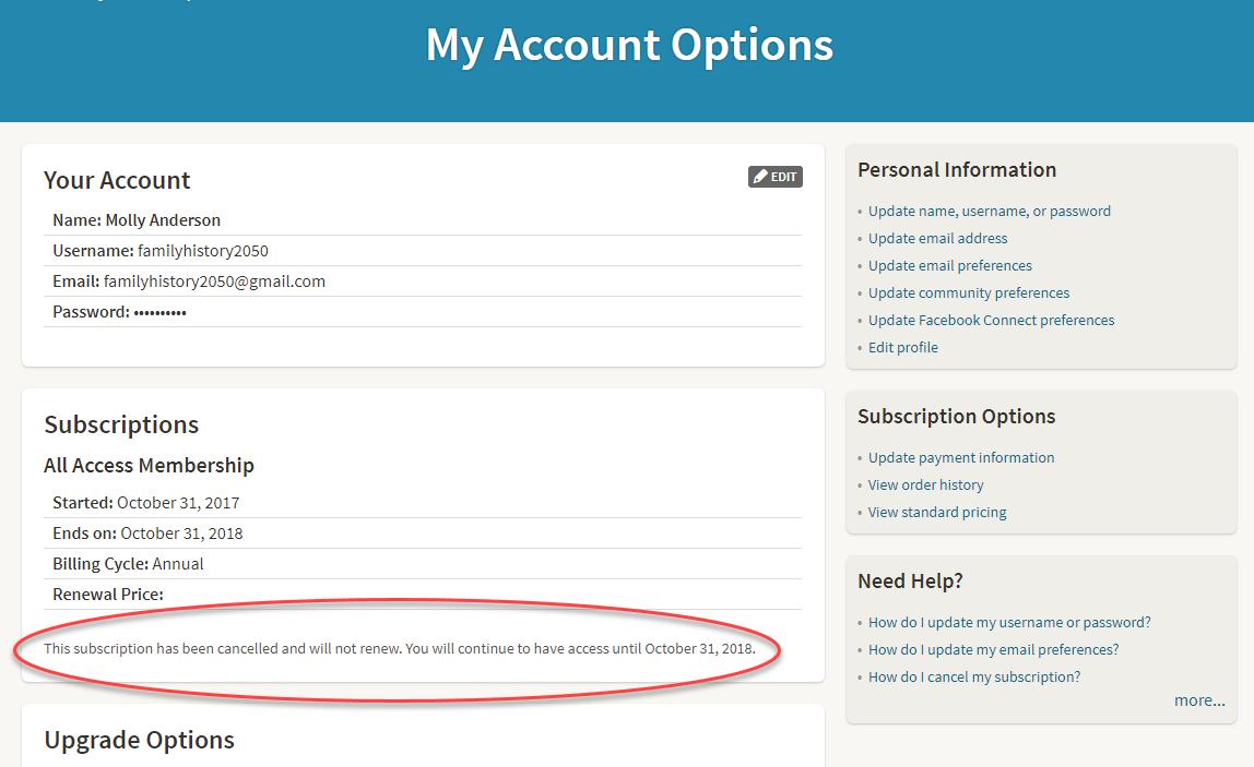 Match com cancelling subscription