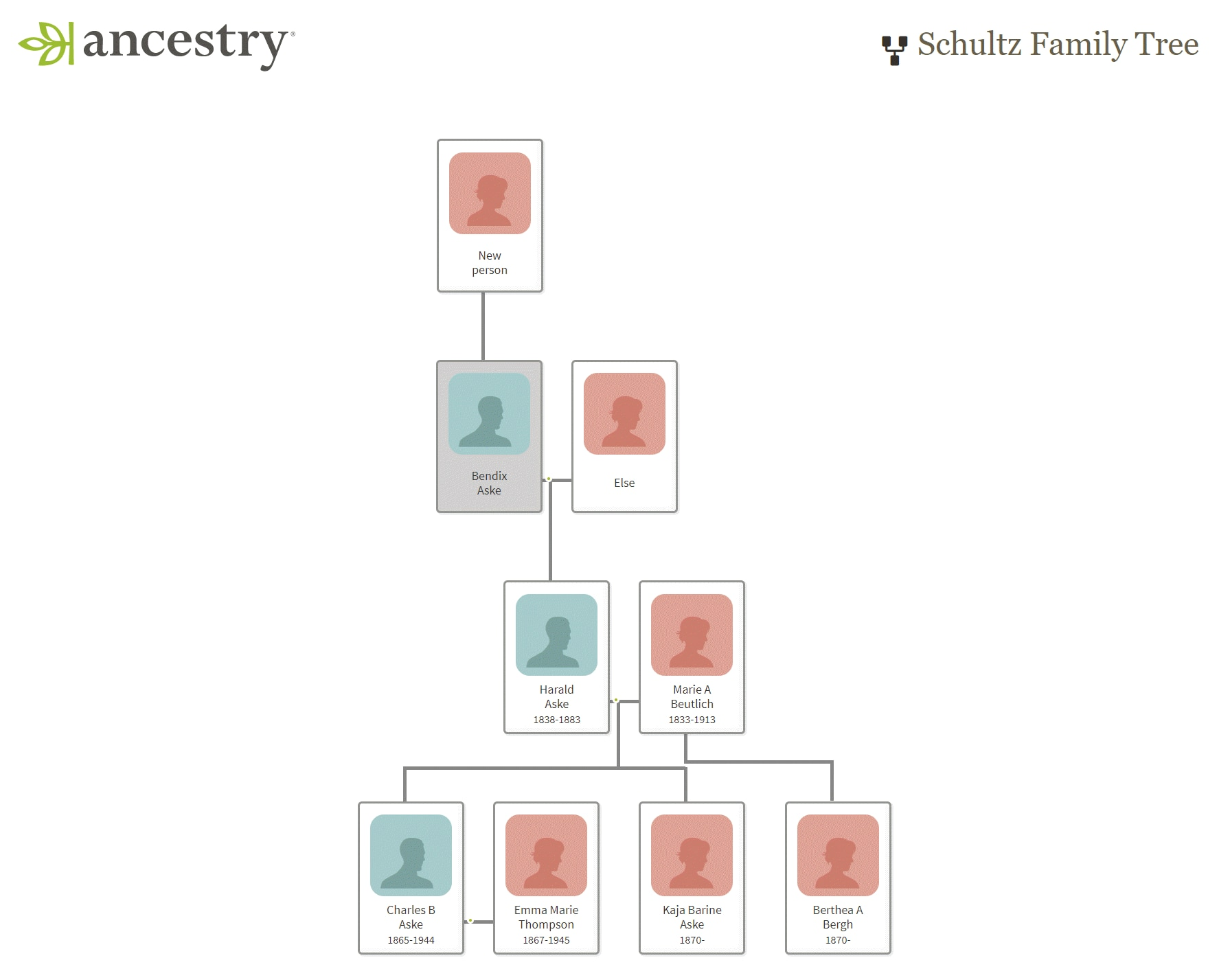 make a genealogy chart