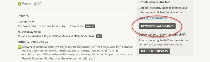 DOWNLOAD RAW DNA DATA