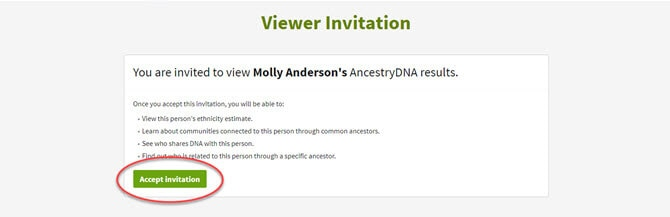 Accepting a dna invitation my account options stopboris Choice Image