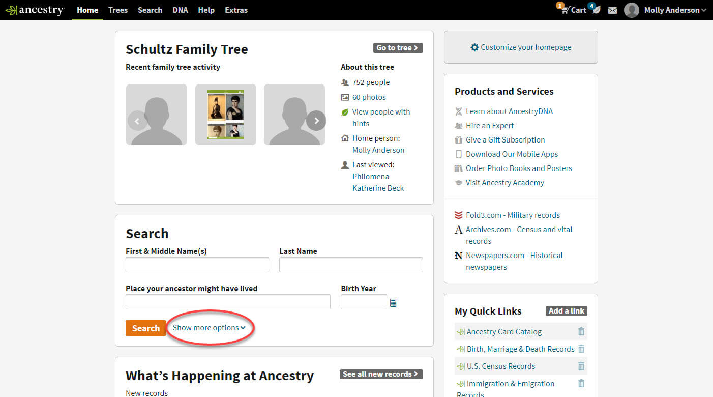 How to Search Ancestry®