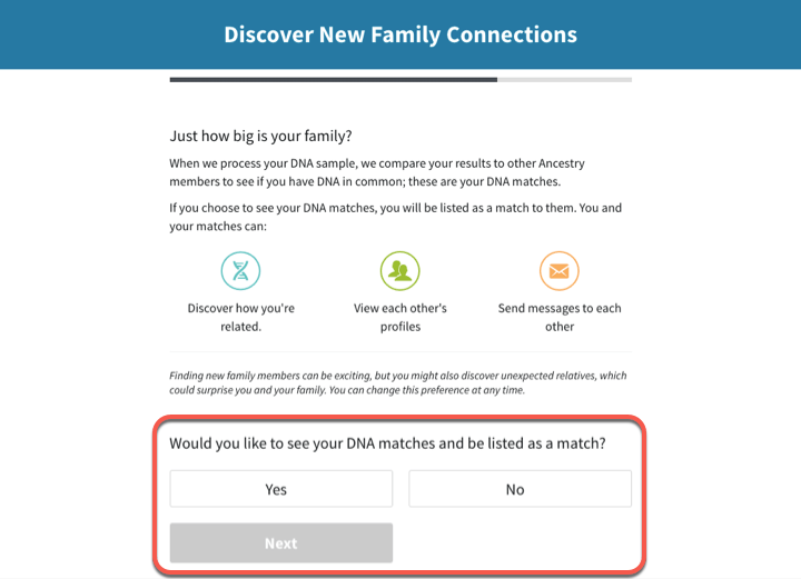 Activating a DNA Kit